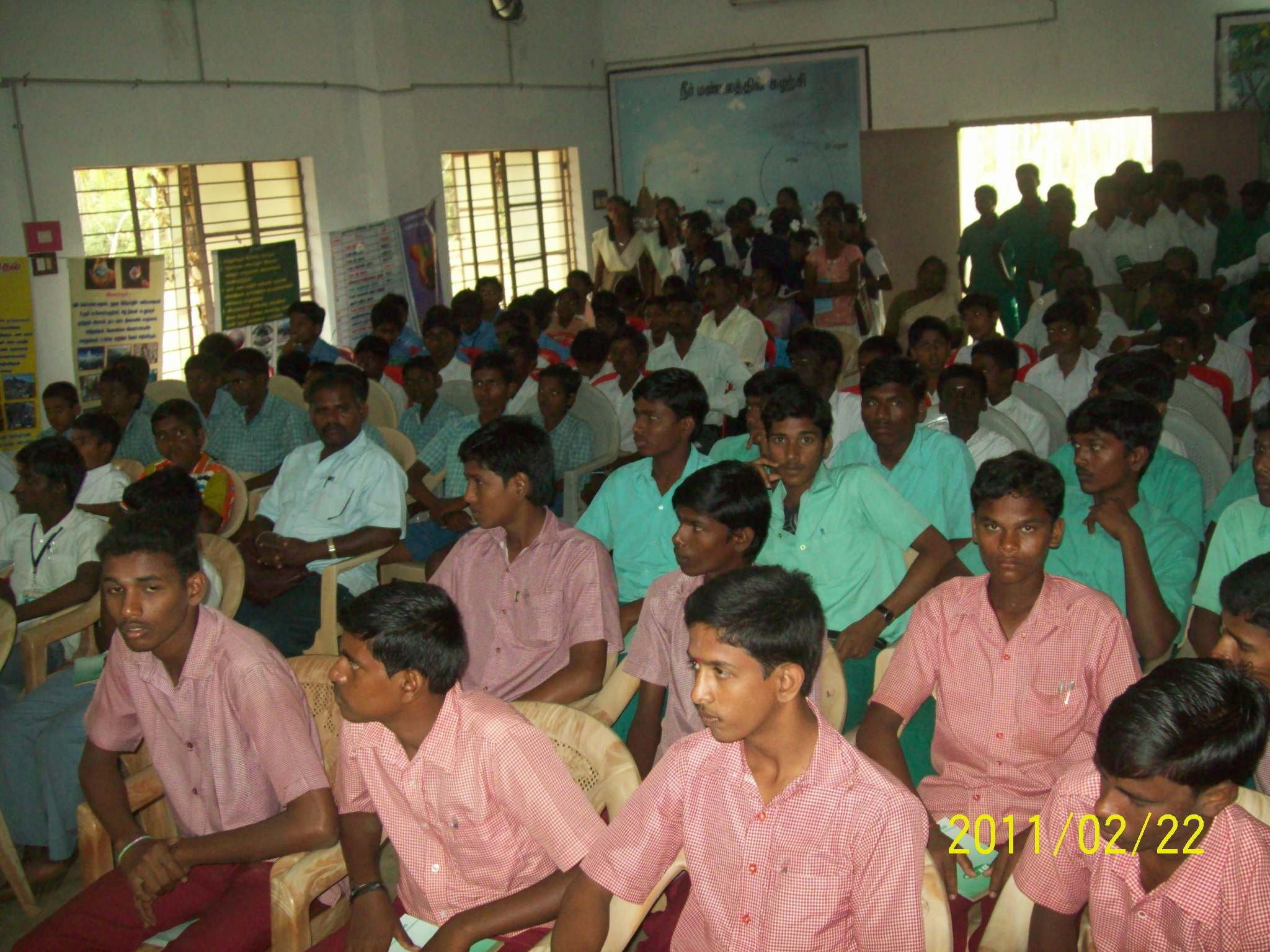 Students participated in Environment Awareness Programmes